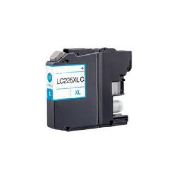 Tinteiro Brother LC225 XL (V3) Cyan Compatível