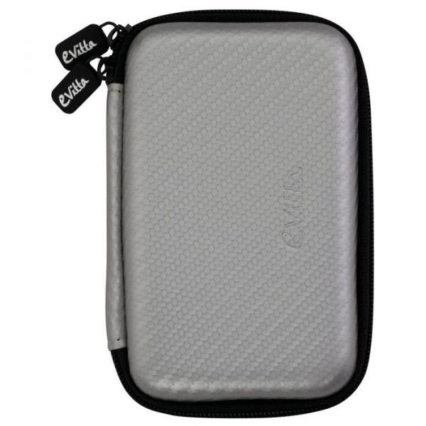 e-Vitta Bolsa para disco 2.5'' Fiber Silver