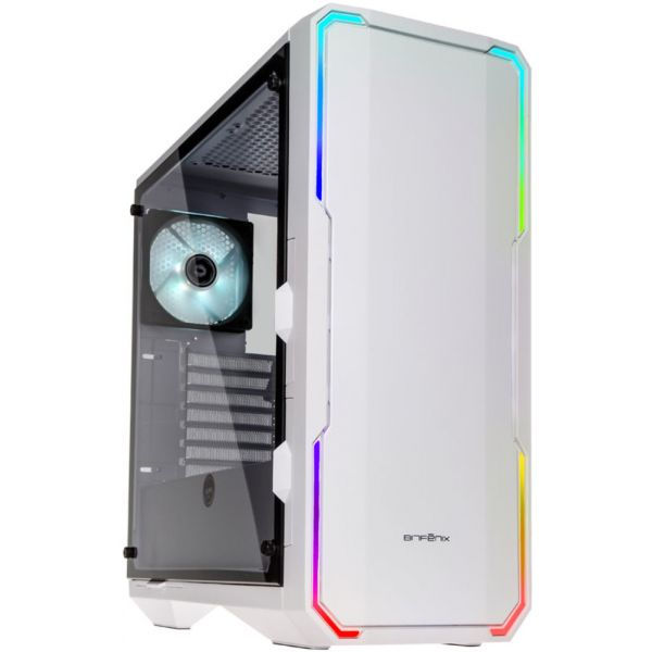 BitFenix Enso RGB White Glass Window - BFC-ENS-150-WWWGK