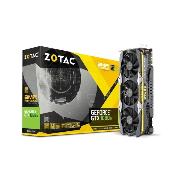 Zotac GeForce GTX1080Ti AMP! Extreme Core Edition 11GB GDDR5 - ZT-P10810F-10P