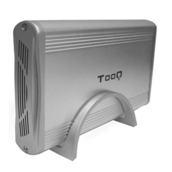 "Tooq Caixa Externa para Disco 3.5"" IDE / SATA Silver - TQE-3518S"