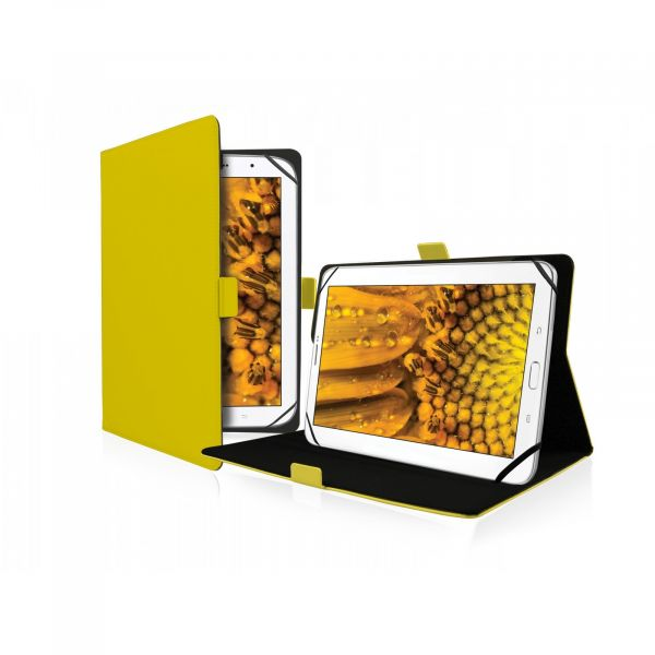 SBS Universal book case Book Lite for Tablet 8'' Yellow - TABOOKLITEUN8Y