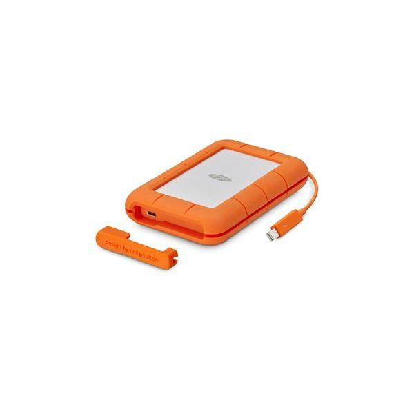 Disco Externo SSD LaCie 1TB Rugged USB-C SSD Thunderbolt USB 3.0 - STFS1000401