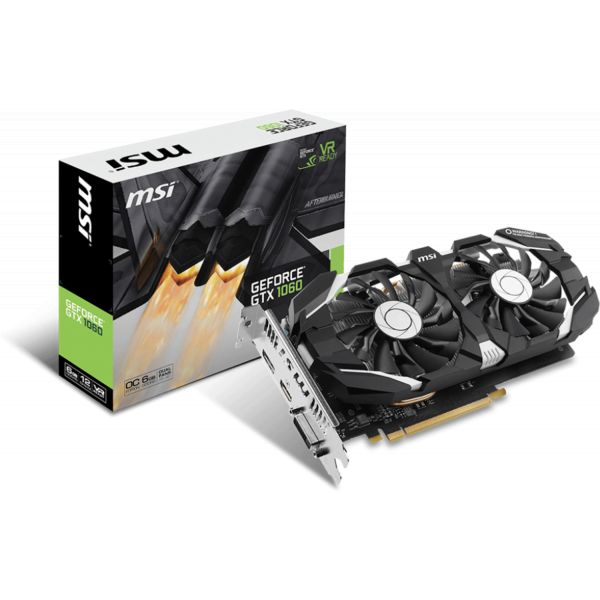 MSI GeForce GTX1060 OC V1 6GB GDDR5 - 912-V328-069