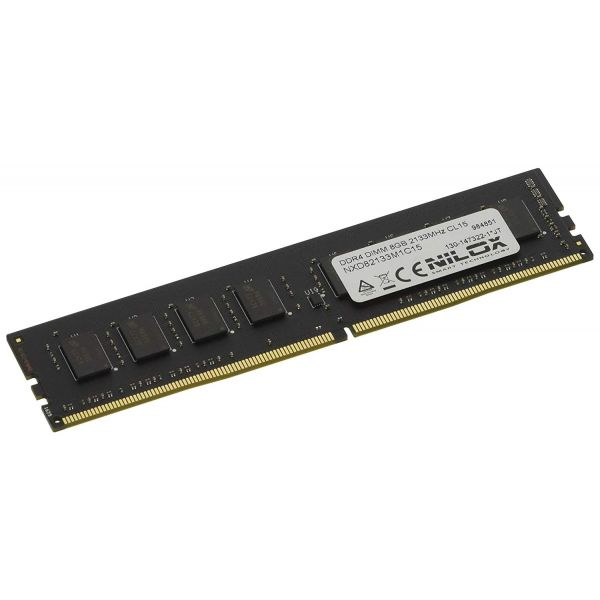 Memória RAM Nilox 8GB DDR4 2133MHz PC4-17000 CL15 - NXD82133M1C15