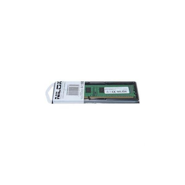 Memória RAM Nilox 4GB DDR3 1600MHz PC3-12800 CL11 - NXS41600M1C11