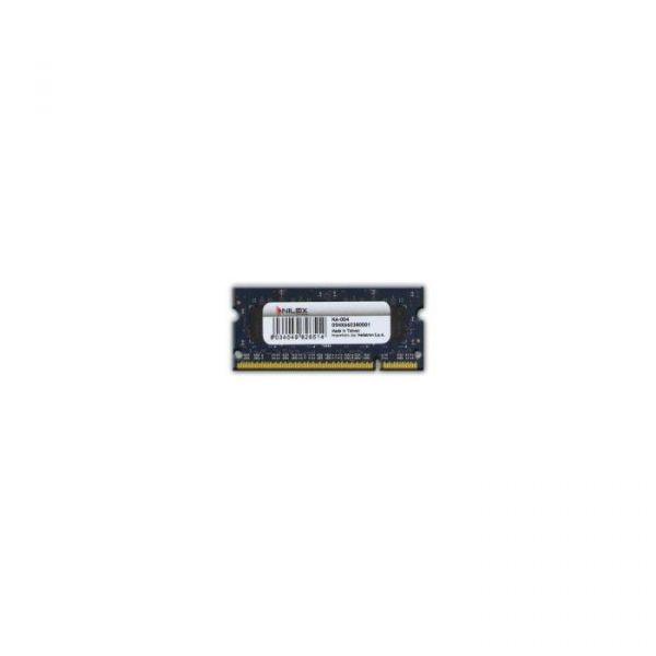 Memória RAM Nilox 1GB DDR2 667MHz PC2-5300 CL5 - NXS1667H1C5