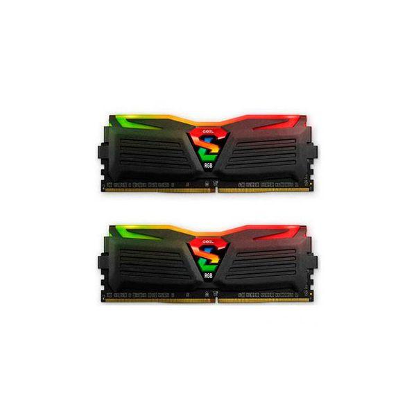 Memória RAM Geil 16GB Super Luce 2x 8GB DDR4 3000MHz - GALS416GB3000C16ADC