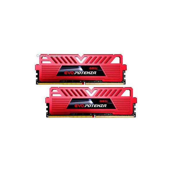 Memória RAM Geil 8GB EVO Potenza 2x 4GB DDR4 2400MHz PC4-19200 CL16 - GPR48GB2400C16DC