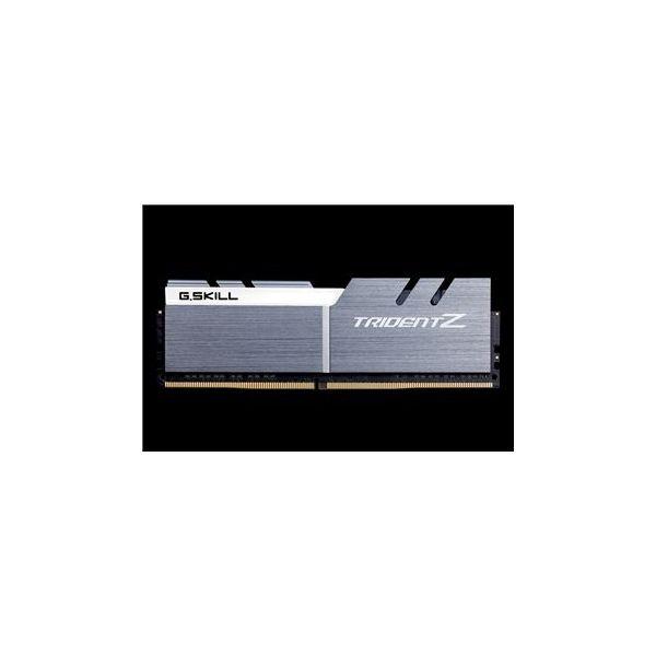 Memória RAM G.Skill 16GB Trident Z RGB (2x 8GB) DDR4 4500MHz PC4-36000 CL19 Grey/White - F4-4500C19D-16GTZSWE