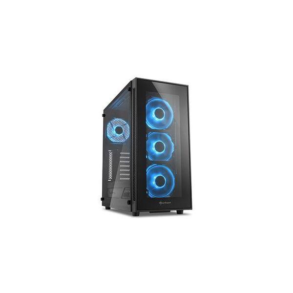 Sharkoon TG5 Blue LED Window