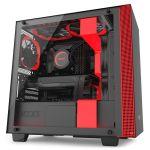 NZXT H400i RGB Black/Red - CA-H400W-BR