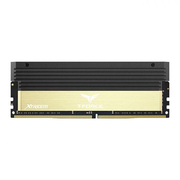Memória RAM Team Group 16GB T-Force Xtreem 2x 8GB DDR4 4000Mhz CL18 Gold - TXGD416G4000HC18EDC0