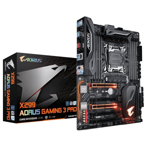 Motherboard Gigabyte X299 Aorus Gaming 3 Pro