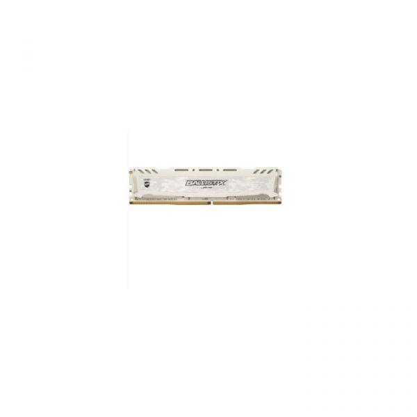Memória RAM Crucial 4GB Ballistix Sport LT DDR4 2666MHz PC4-21300 White - BLS4G4D26BFSC
