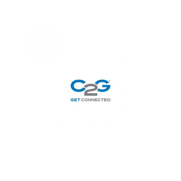 C2G Cabo rede Cat6a 30cm - 89933