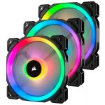 Corsair 3x 120mm LL120 Dual Light Loop RGB LED PWM + Lighting Node PRO - CO-9050072-WW