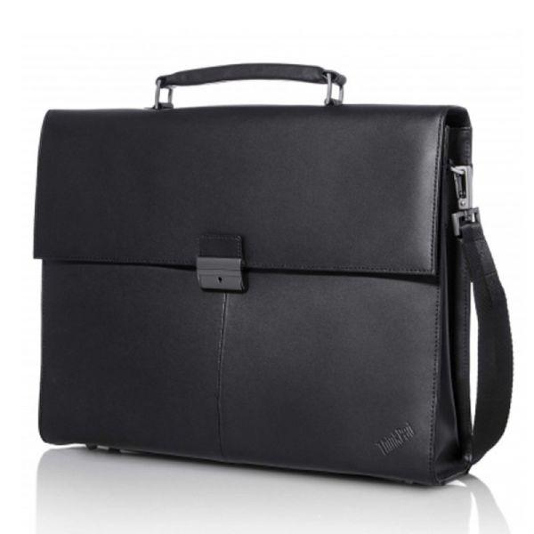 """Lenovo ThinkPad Executive 14.1"""" Leather Carry Case - 4X40E77322"""