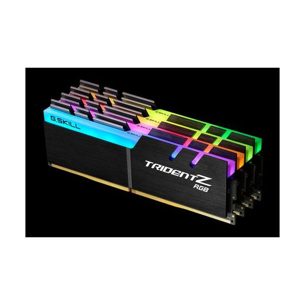 Memória RAM G.Skill 32GB Trident Z RGB (4 x 8GB) DDR4 4000MHz PC4-32000 CL18 - F4-4000C18Q-32GTZR