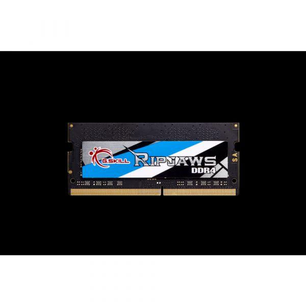 Memória RAM G.Skill 4GB Ripjaws DDR4 SO-DIMM (1 x 4GB) DDR4 2666MHz PC4-21300 CL18 - F4-2666C18S-4GRS