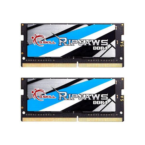 Memória RAM G.Skill 8GB Ripjaws DDR4 SO-DIMM (2 x 4GB) DDR4 2666MHz PC4-21300 CL18 - F4-2666C18D-8GRS