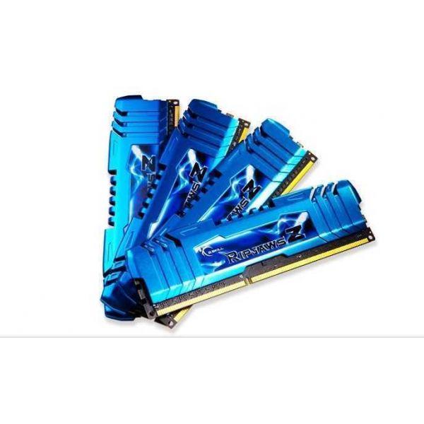 Memória RAM G.Skill 32GB RipjawsZ (4 x 8GB) DDR3 2400MHz PC3-19200 CL11 - F3-2400C11Q-32GZM