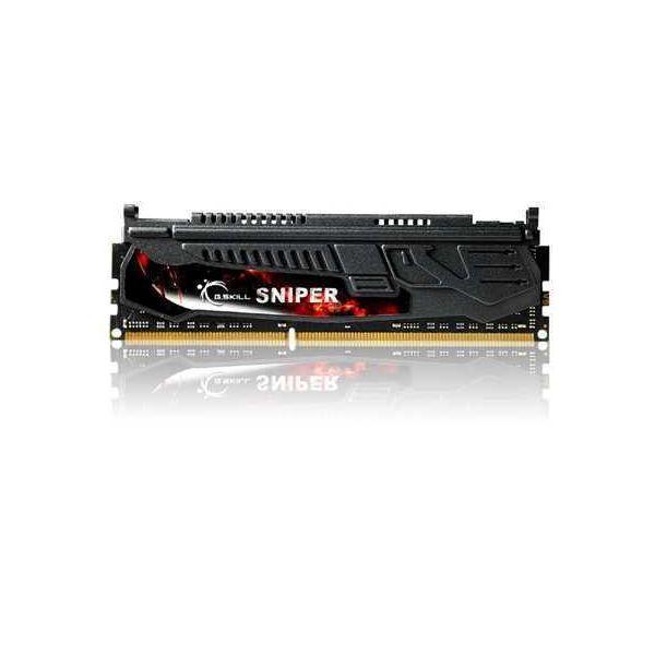 Memória RAM G.Skill 8GB Sniper (2 x 4GB) DDR3 2400MHz PC3-19200 CL11 - F3-2400C11D-8GSR