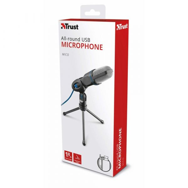 Trust Microfone Micro USB - 20378