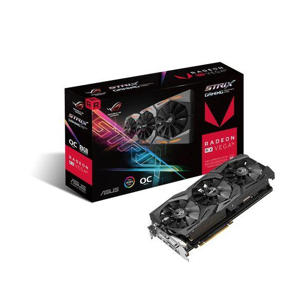 Asus Radeon Strix RX Vega 56 OC 8GB HBM2 (PCIE) 90YV0B50-M0NA00