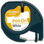 Dymo Letratag Iron-on Tape White 12mm X 2 M 18768 - S0718840