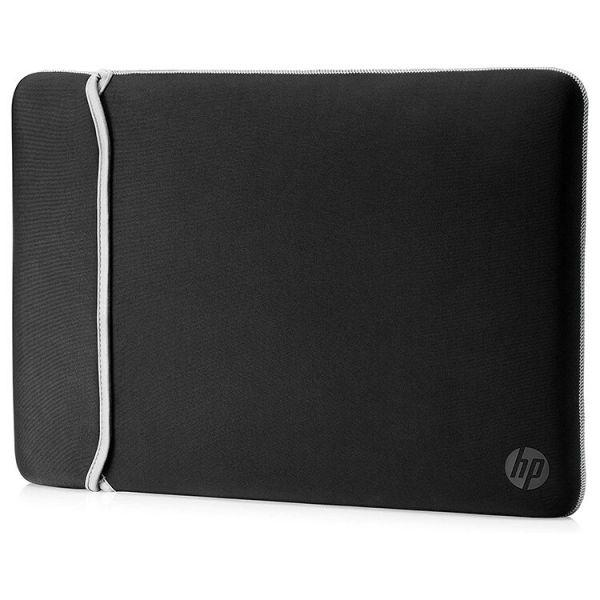 """HP Neoprene 15.6"""" Reversible Sleeve Black/Silver - 2UF62AA"""