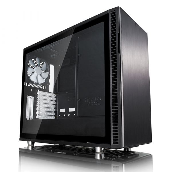 Fractal Design Define R6 Black Tempered Glass - FD-CA-DEF-R6-BK-TG