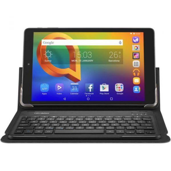 """Tablet Alcatel A3 10.1"""" QC MT8127 1GB/16Gb Wi-Fi Black com Teclado"""