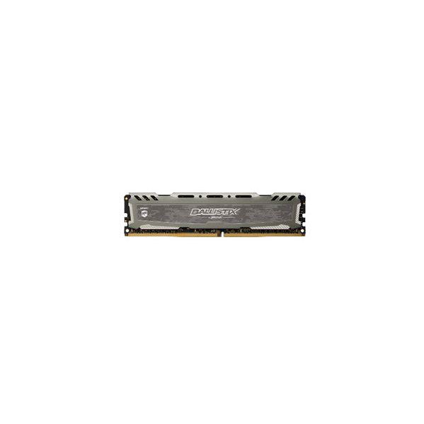 Memória RAM Crucial 8GB Ballistix Sport LT DDR4 2400MHz grey SR - BLS8G4D240FSBK