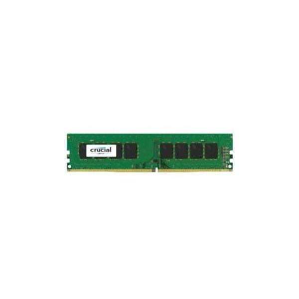 Memória RAM Crucial 16GB DDR4 2400MHz 4x 4GB SR x8 unbuffer - CT4K4G4DFS824A