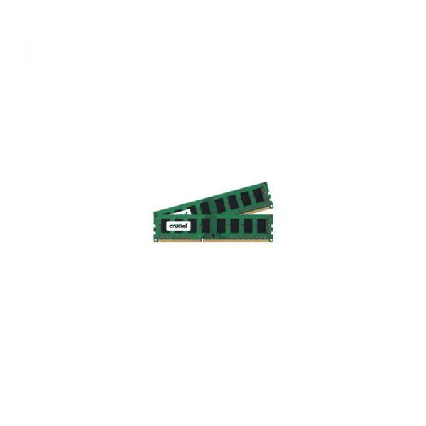 Memória RAM Crucial 4GB DDR3L 1600MHz 2x 2GB UDIMM 240pin - CT2K25664BD160B