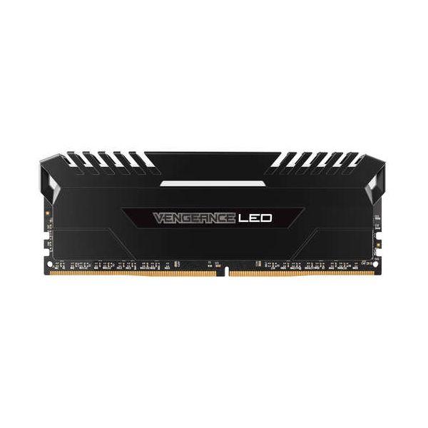 Memória RAM Corsair 32GB Vengeance LED 4x 8GB DDR4 3000MHz PC4-24000 CL16 - CMU32GX4M4C3000C16