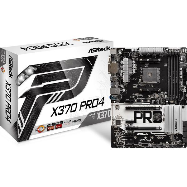 Motherboard Asrock X370 PRO4 - MXB7T0-A0UAYZ