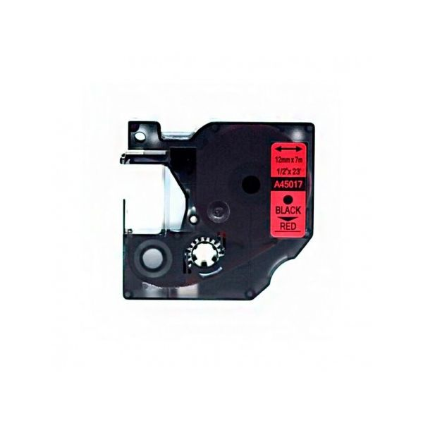 Fita Dymo D1 45017 PRETO / FITA Red S0720570 Compatível