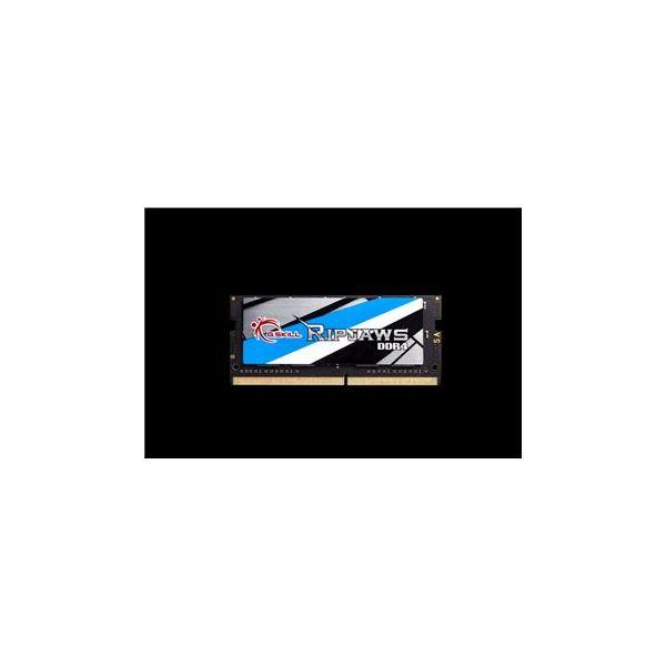 Memória RAM G.Skill 16GB Ripjaws DDR4 SO-DIMM (1 x 16GB) DDR4 3200MHz PC4-25600 CL18 - F4-3200C18S-16GRS