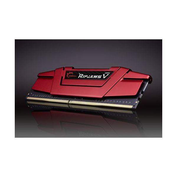 Memória RAM G.Skill 16GB Ripjaws V (2x 8GB) DDR4 2666MHz CL19 - F4-2666C19D-16GVR