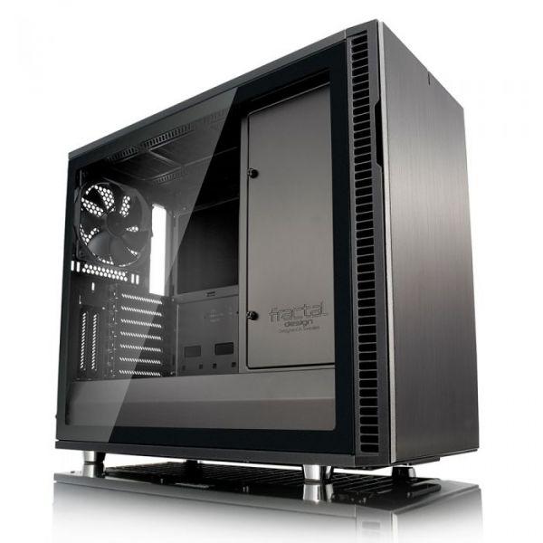 Fractal Design Define R6 Gunmetal Tempered Glass - FD-CA-DEF-R6-GY-TG