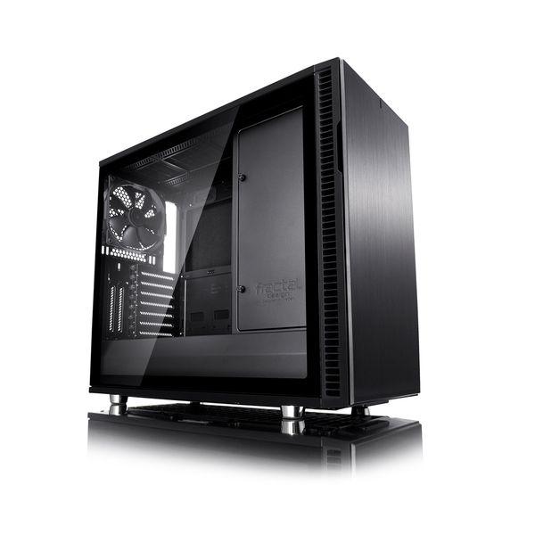 Fractal Design Define R6 Blackout Tempered Glass - FD-CA-DEF-R6-BKO-TG