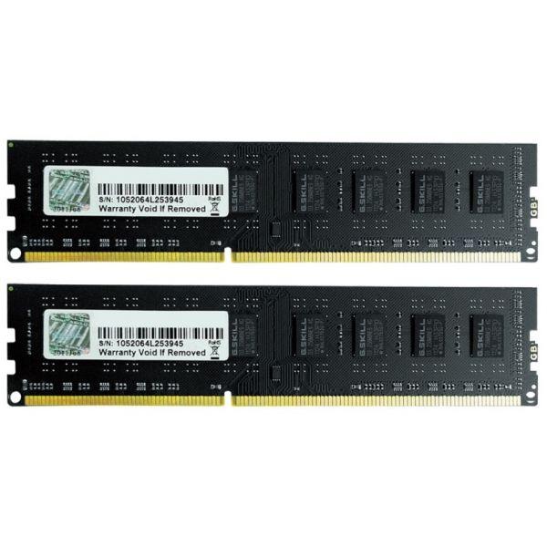 Memória RAM G.Skill 16GB NT Series (2x 8GB) DDR4 2666MHz CL19 Black - F4-2666C19D-16GNT