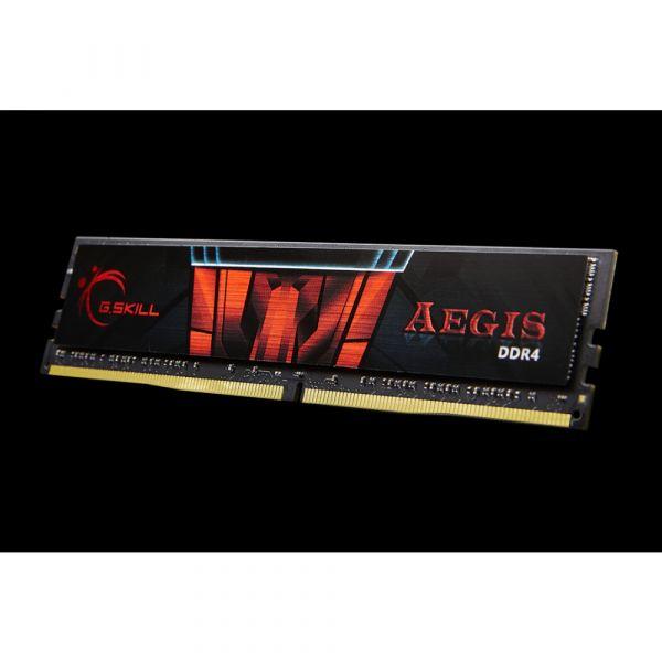 Memória RAM G.Skill 16GB Aegis (1x 16GB) DDR4 3000MHz PC4-24000 CL16 Black - F4-3000C16S-16GISB