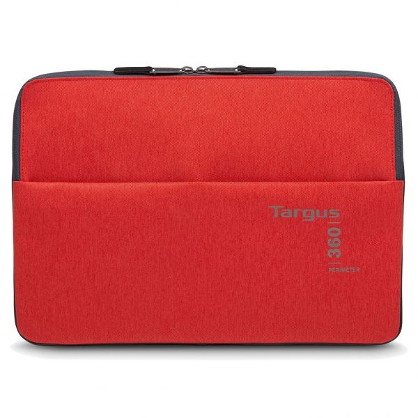 "Targus 360 Perimeter 15.6"" Laptop Sleeve Ebony Flame Scarlet"