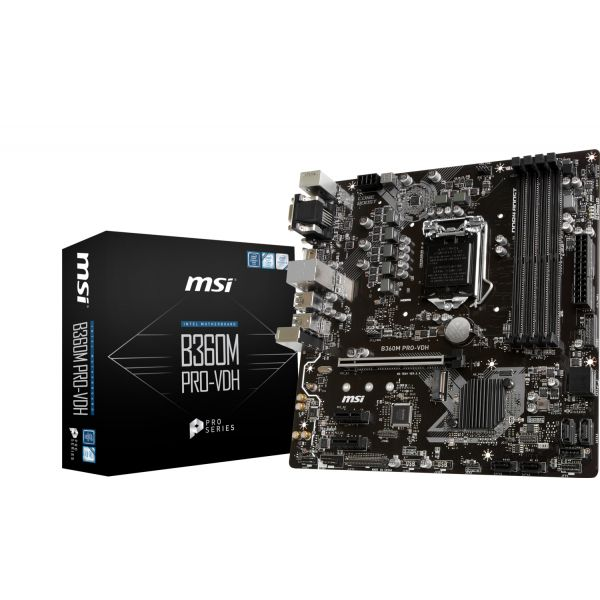 Motherboard MSI B360M PRO-VDH - 911-7B24-003