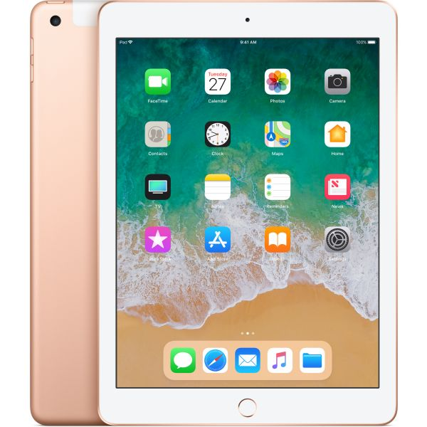 "Tablet Apple iPad 9.7"" 32GB Wi-Fi + Cellular Gold - MRM02TY/A"