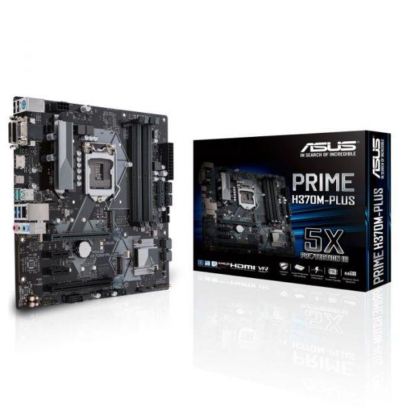 Motherboard Asus Prime H370M-Plus - 90MB0WC0-M0EAY0