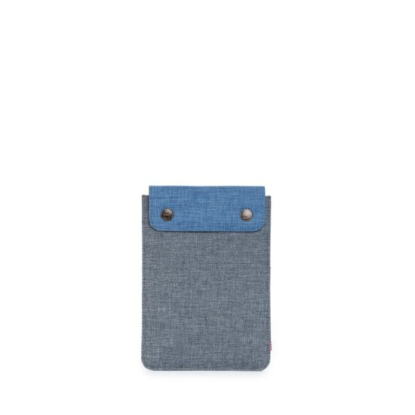Herschel Sleeve for iPad Mini Spokane Charcoal Crosshatch/Navy Crosshatch - 10191-00750-OS